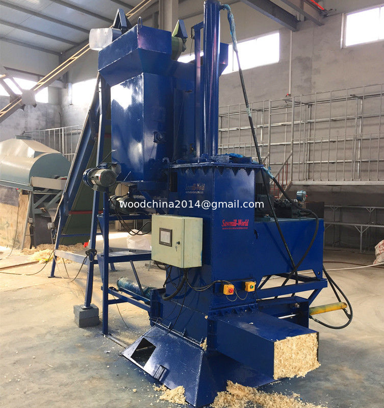 Wood Shavings Packing Machine, Wood Sawdust Baler Machine for Sale