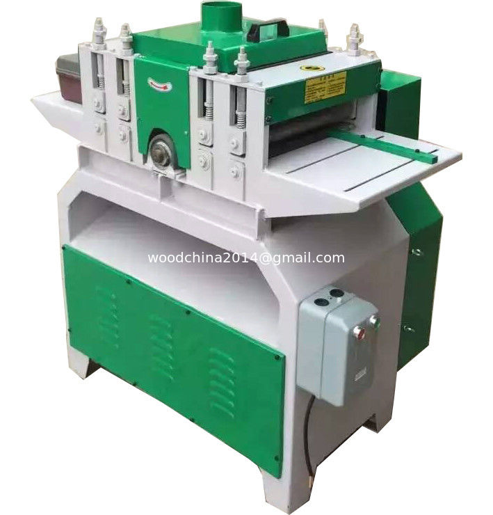 Multiblade circular saw machine , Multiple blades sawmill multi blade wood Rip saw machine