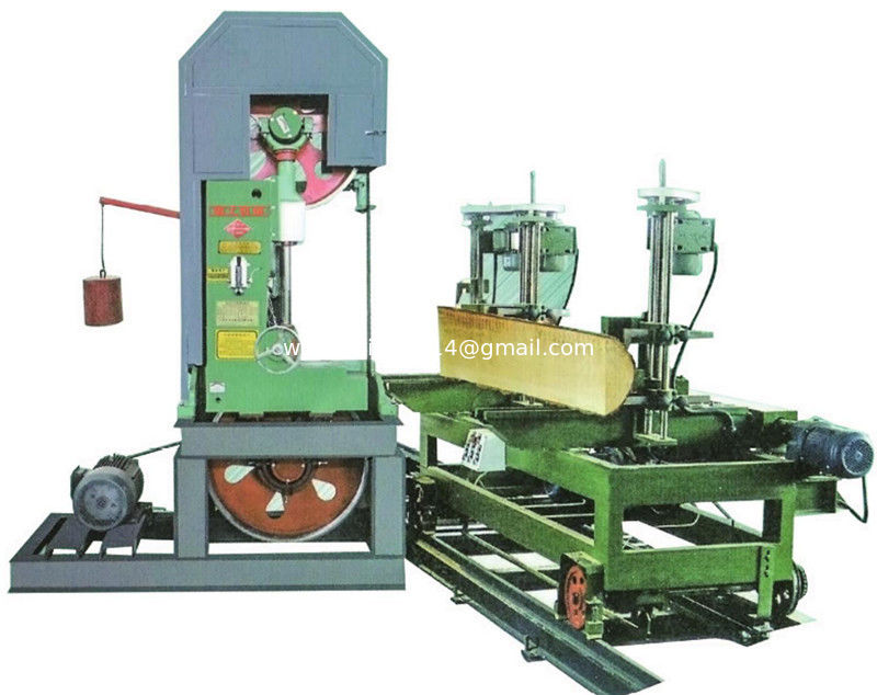 Log Cutting Vertical Band Sawmill With foundation Timber sawmill Machine For Sale